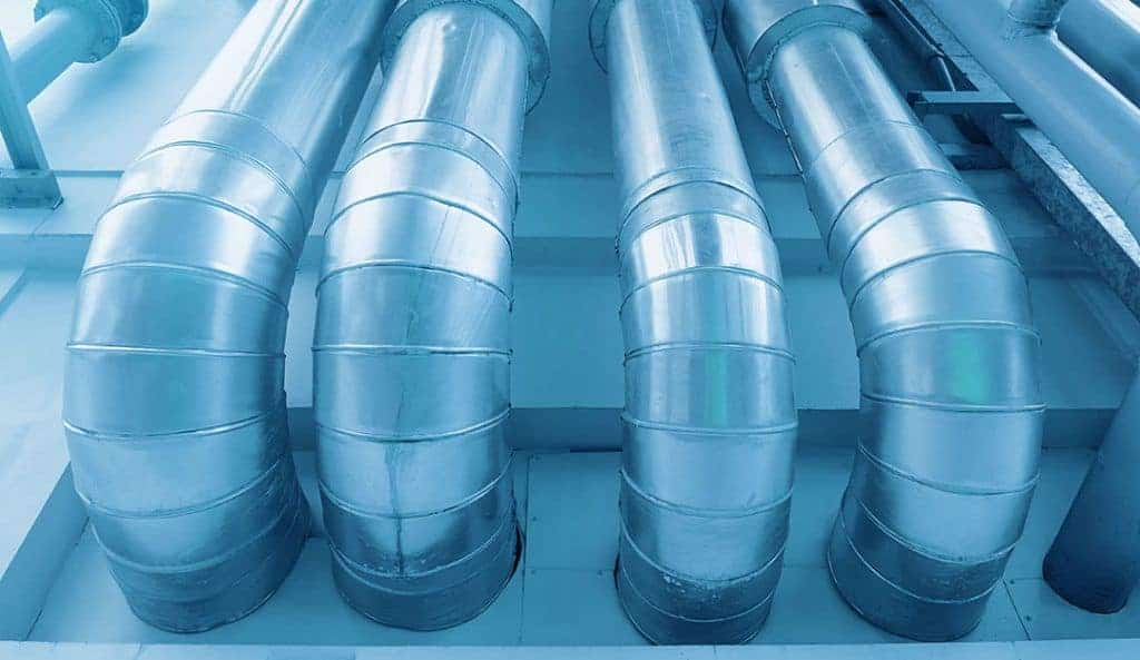 Duct Pipe Outside